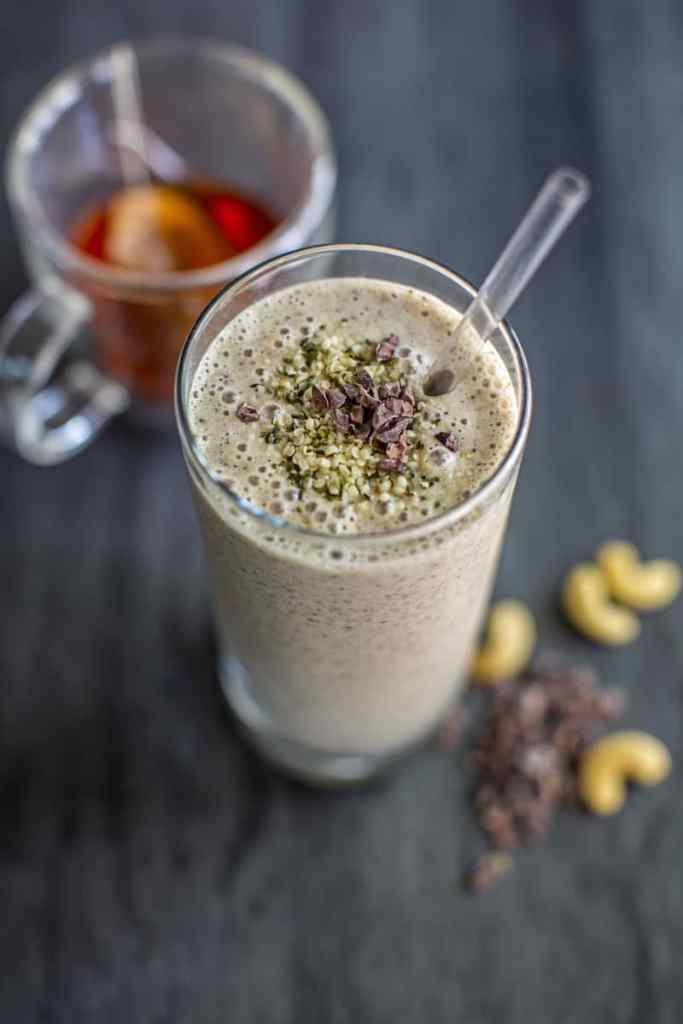 Chai Spice Green Smoothie by Root and Revel
