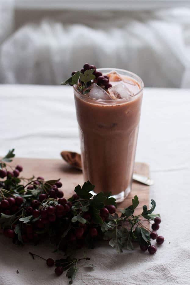 Sweet Potato Pie Smoothie by The Little Plantation