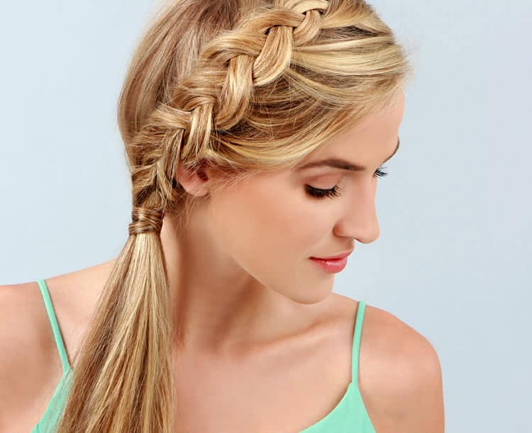 11 Braided Ponytail Tutorials Perfect For Fall Hello Glow