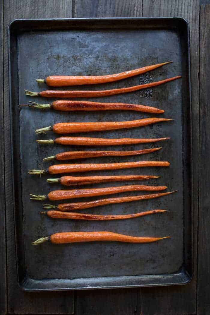 Honey-Roasted Carrots with Cumin
