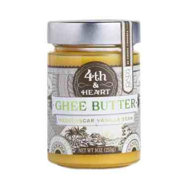 Fourth and Heart Grass Fed Vanilla Bean Ghee
