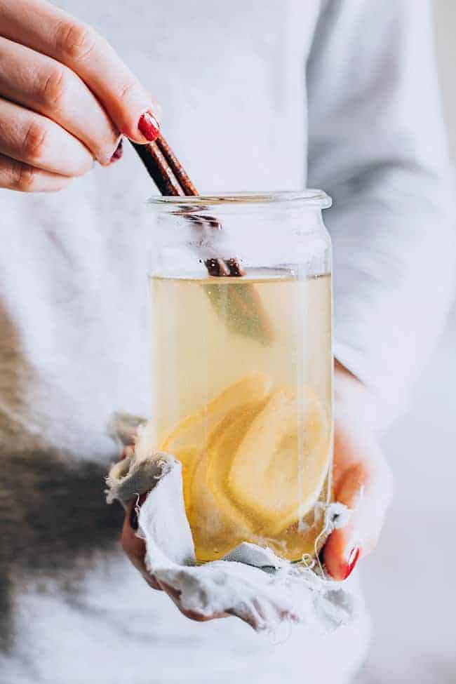 In + Out: 3 Banana Beauty Recipes + Sleep Well Banana Tea