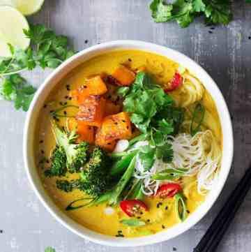 Khao Soi Soup from Lazy Cat Kitchen