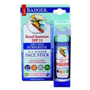 Badger SPF 35+ All Season Face Stick Sunscreen