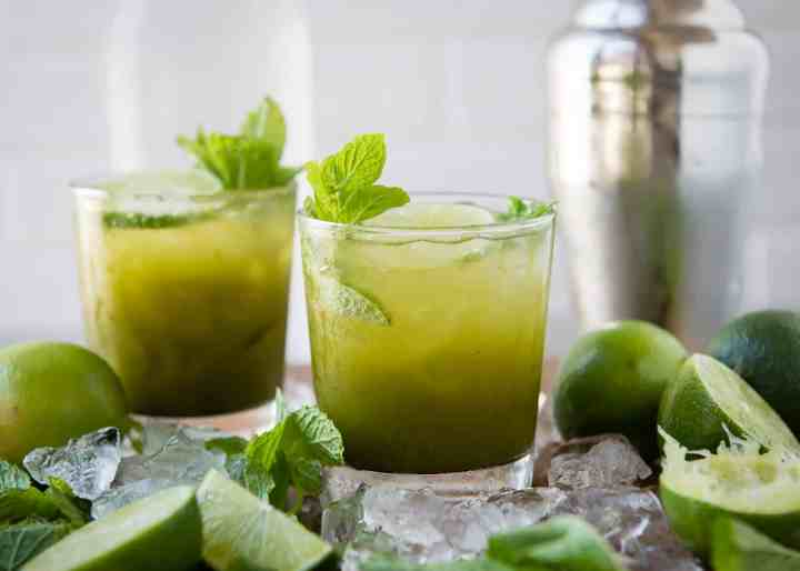 This Summer We're All About Matcha Mojitos