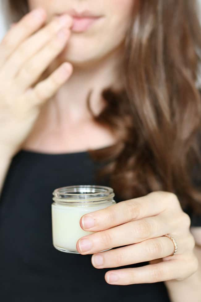 DIY Vegan Lip Balm with Lavender