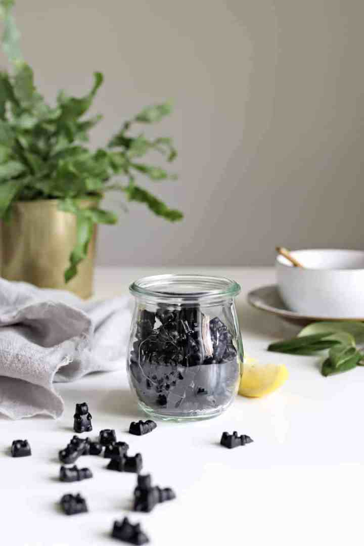 Make These Activated Charcoal Gummies for Detox + Gut Health