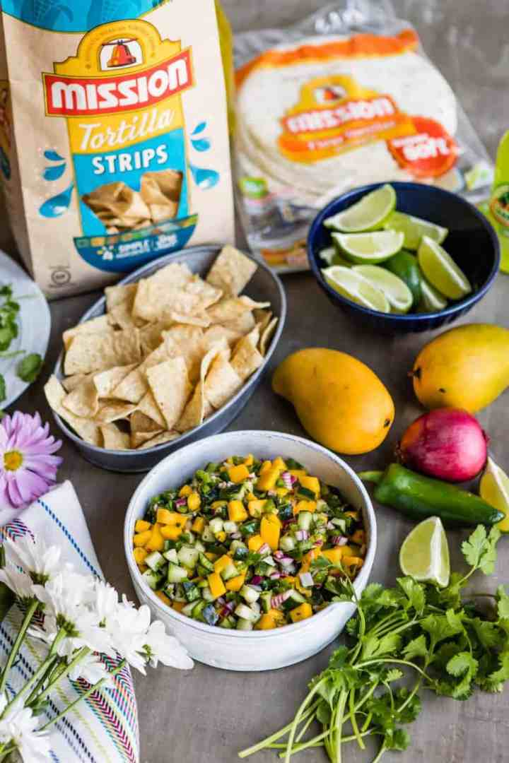 A Mango Jalapeño Cucumber Salsa That's Perfect for Cinco de Mayo