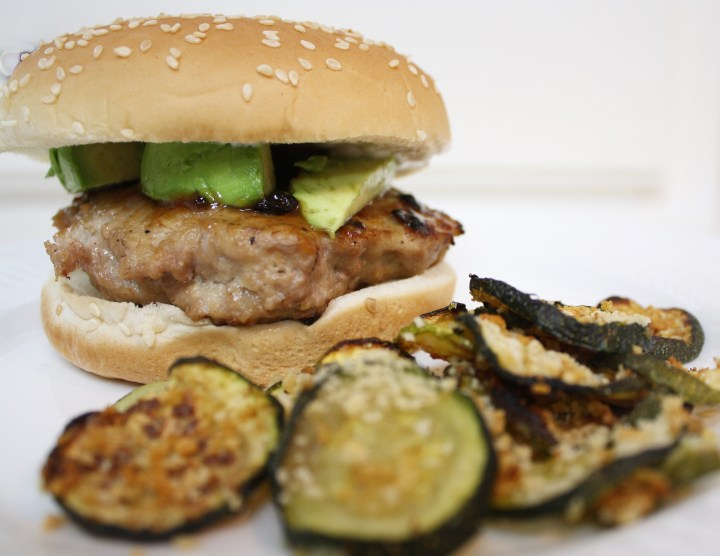 Healthy Burger and Fries Alternative