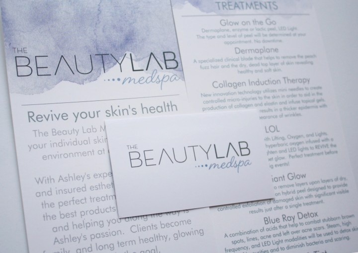The Beauty Lab Med Spa- Lifting Lashes And Spirits