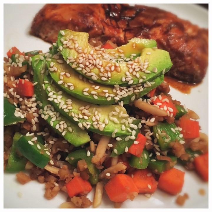 Healthe Cafe- Cauliflower Rice Stir Fry