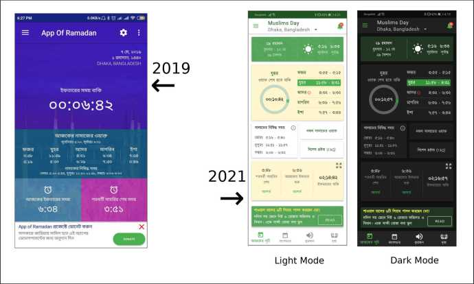 Muslims Day App 2019 to 2021