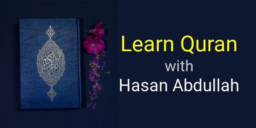 online quran course Hasan Abdullah