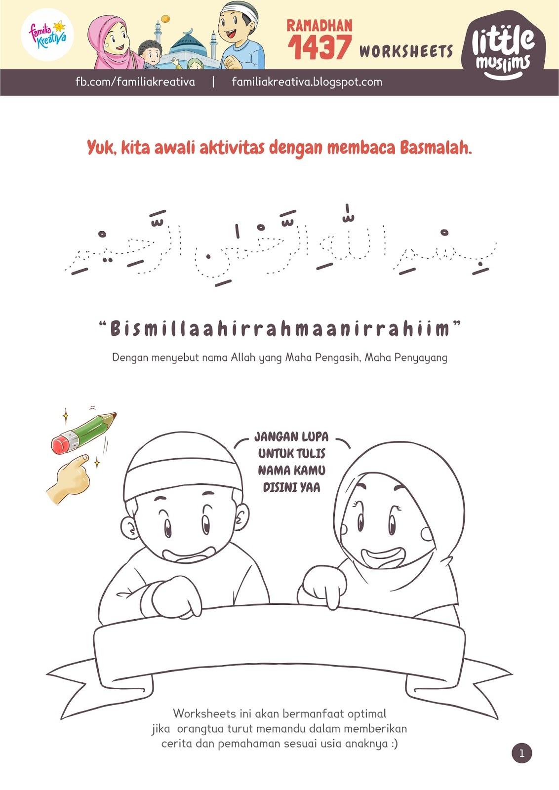 Download Worksheet Untuk Anak Tk