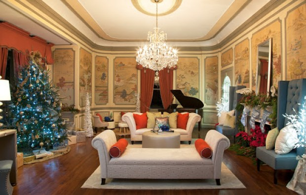 Music room decorated by Robin LaMonte www.roomsrevamped.com