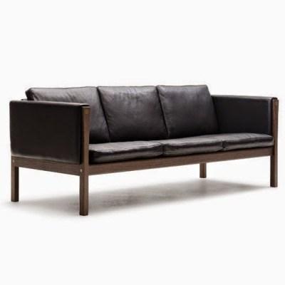 Hans Wegner CH163 sofa www.roomsrevamped.com