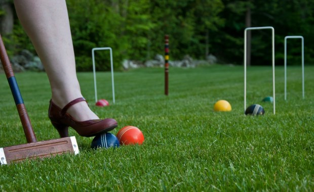 Croquet is a great lawn game