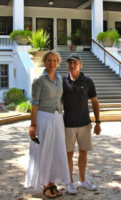 Mitty Ferguson, great-great-grandson of Thomas Carnegie, and his wife Mary run Greyfield Inn.