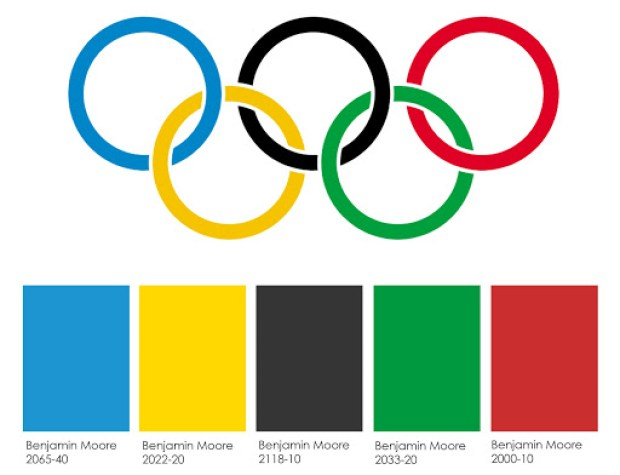 Benjamin Moore Olympic colors