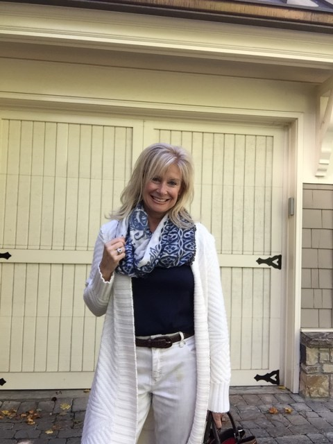 Fashion over 50: It's Sweater Weather in Atlanta!