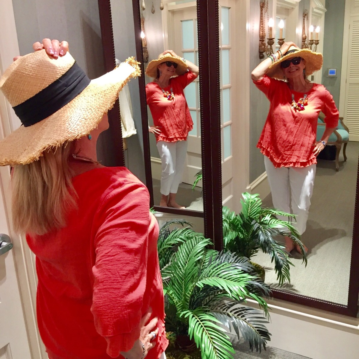 Fashion Over 50: The Beach Bum meets Her Match
