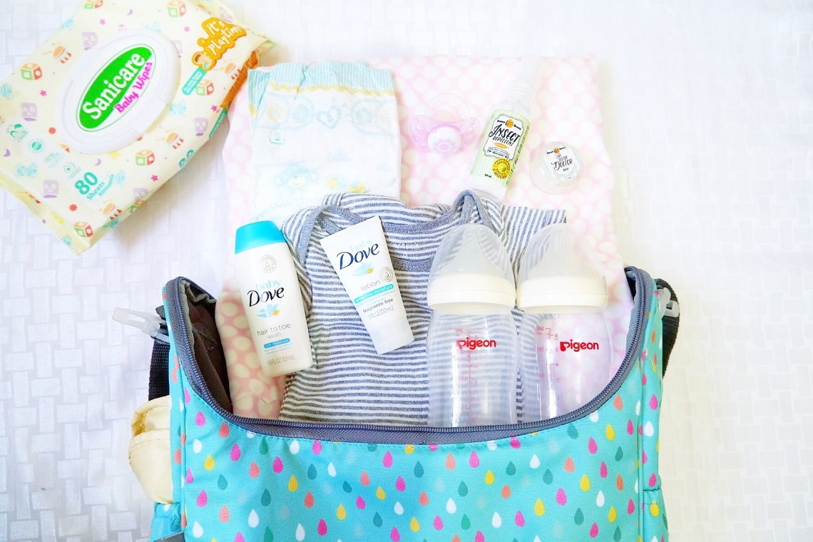 What to pack on your baby's emergency go bag