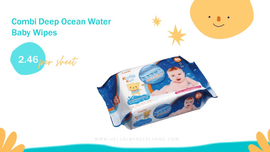 Combi Deep Ocean Water Baby Wipes