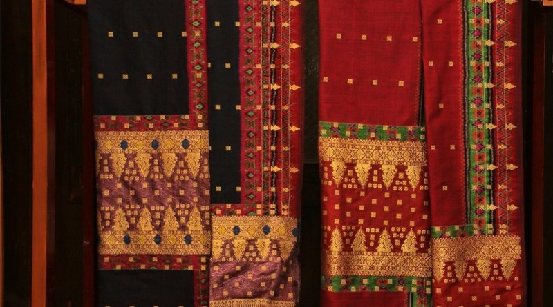 Palembang Songket fabric