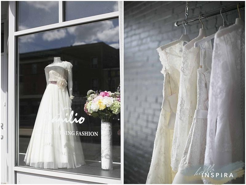 Toronto Wedding Dress: Papilio Boutique
