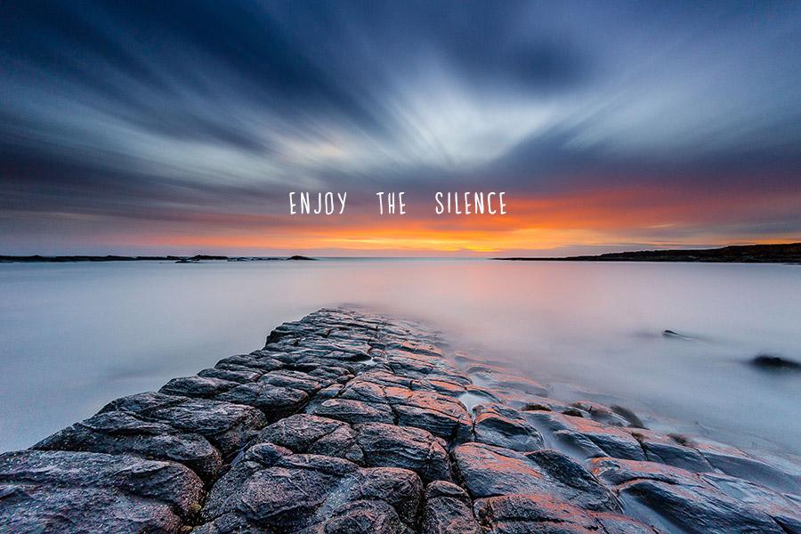 Enjoy The Silence Inspirational Artwork From Hello