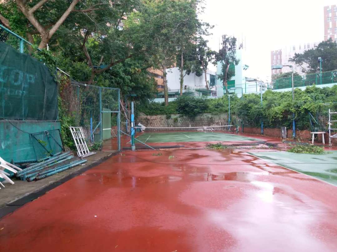 Tennis Court Renovation Project Kowloon