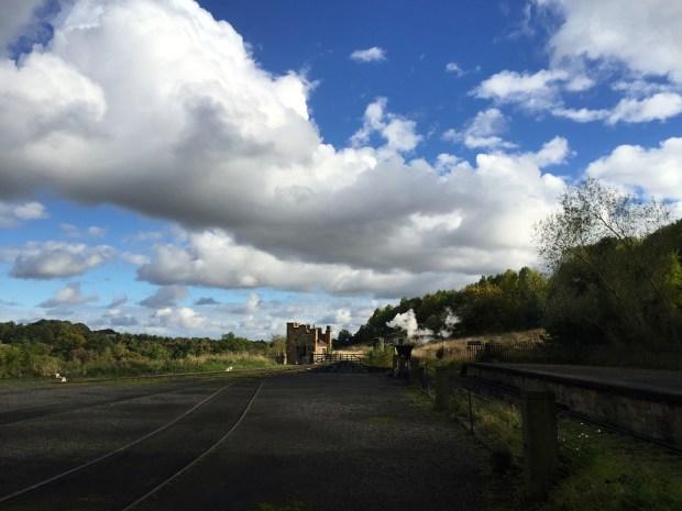 Beamish Waggonway Steam Train