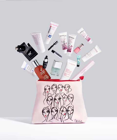 Fenwick Beauty Bag April 2016