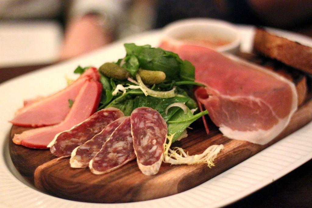 Cote Brasserie Meat Board