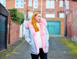 The Perfect Pink Parka