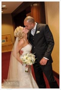 Second kiss wedding