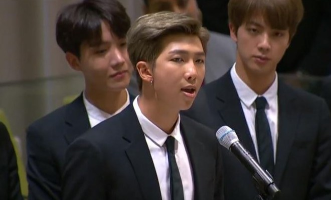 After BTS' RM's Encouragement To #SpeakYourself, People