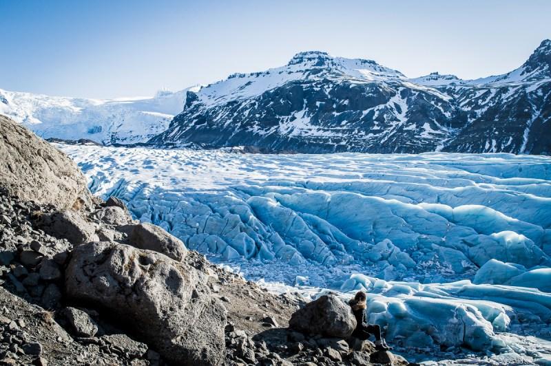 glacier bleu svinafelljokull