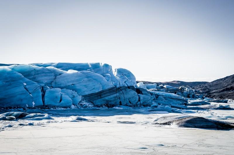 glacier bleu