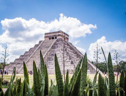 pyramide maya à Chichen Itza