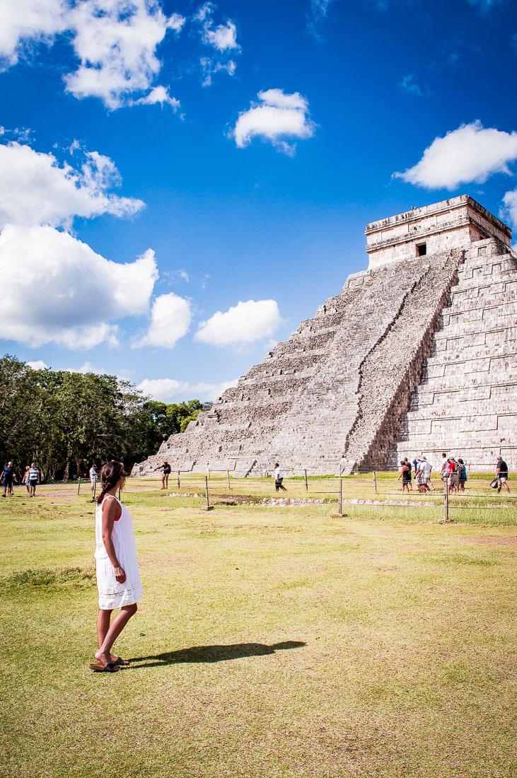 observer la pyramide kukulcan
