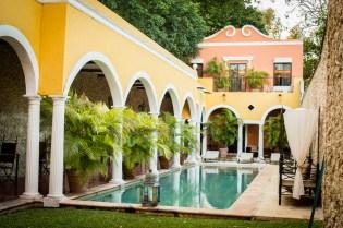 jardin hotel hacienda Merida vip