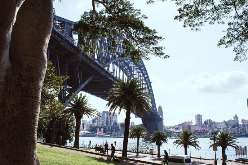 Harbour Bridge vu d'en bas