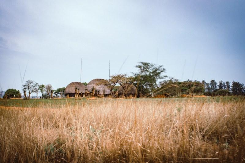 hutte de la réserve de Mlilwane