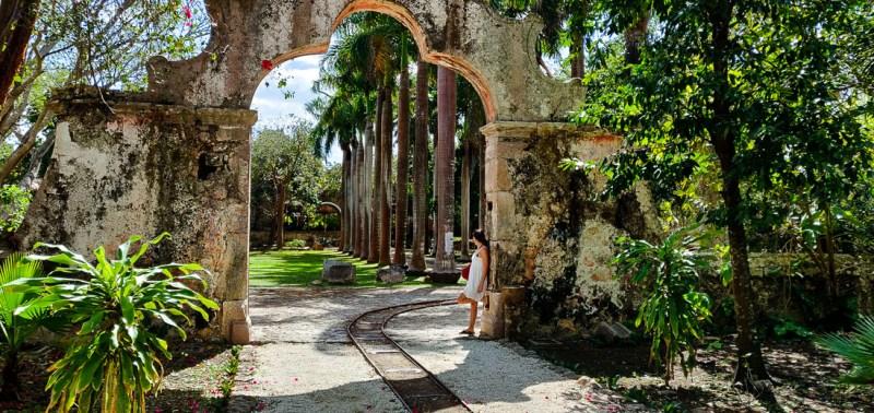 jardin de l'hacienda San Pedro de Ochil