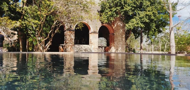 vue sur le bassin hacienda San Pedro de ochil