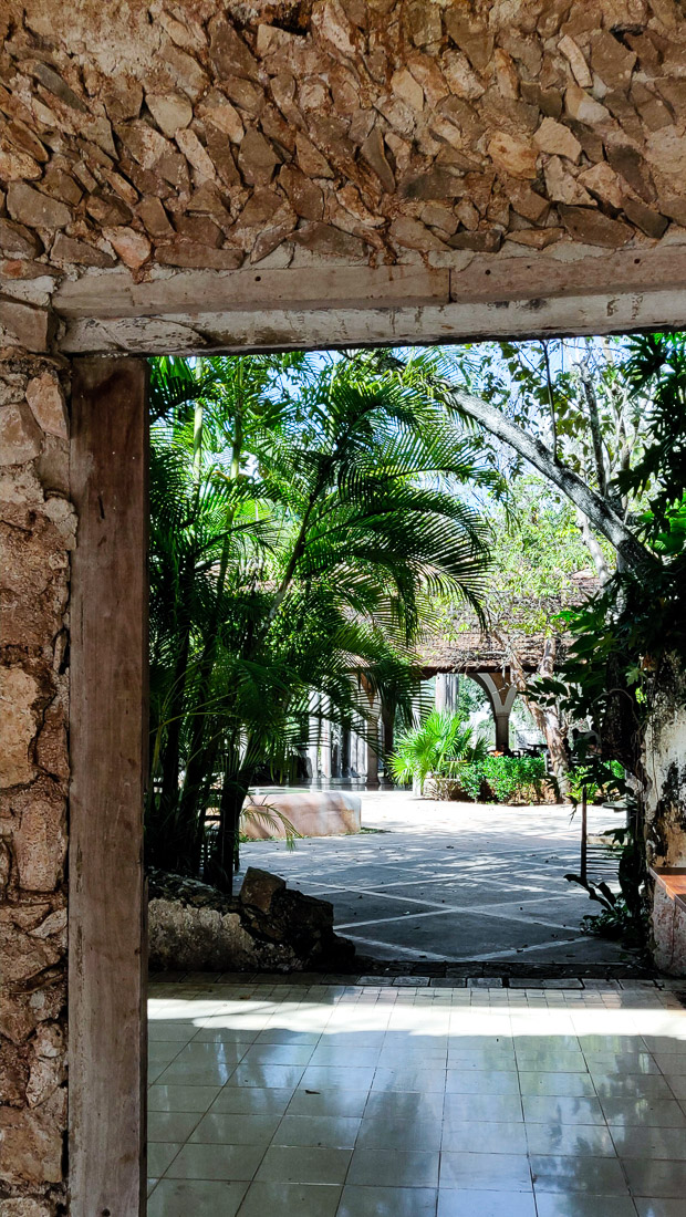 jardin hacienda Pedro de Ochil