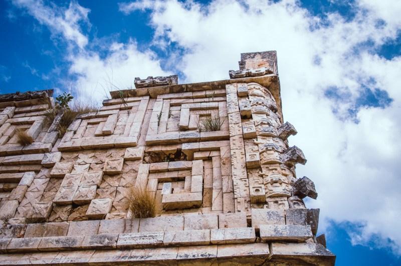 fresque maya à Uxmal