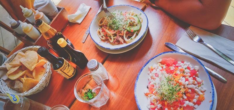 plats au restaurant la playita