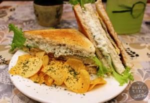 Ken's Chicken Sandwich